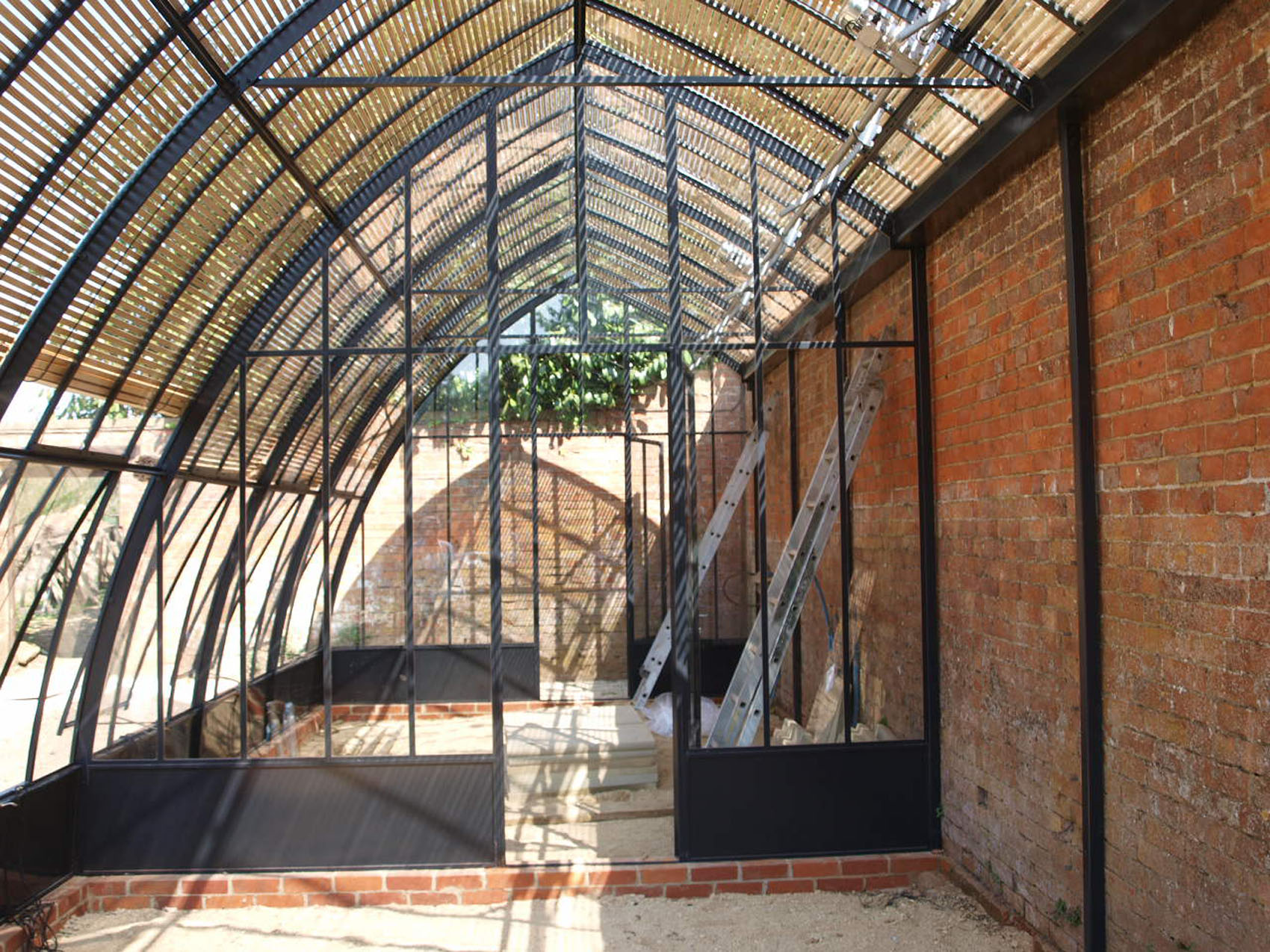 Hybrid greenhouses | Serres et Ferronneries d\'Antan