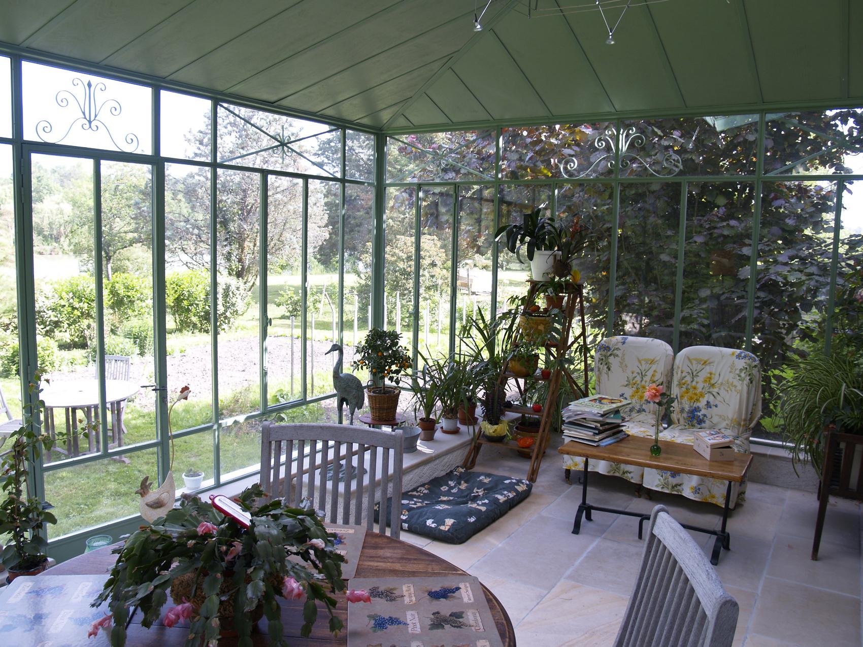 interieur veranda acier 36