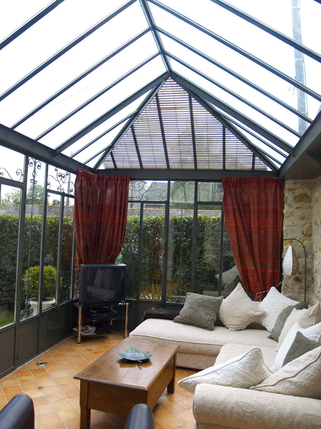 interieur veranda acier 6