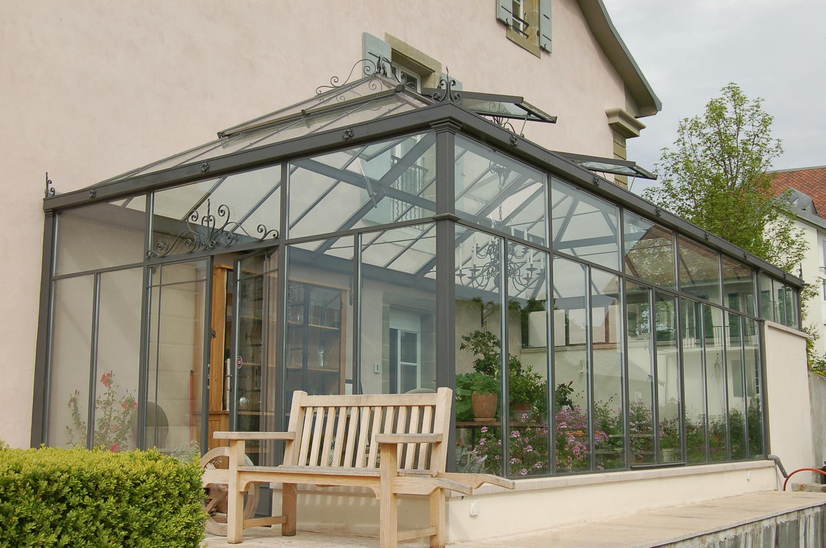 veranda acier 25